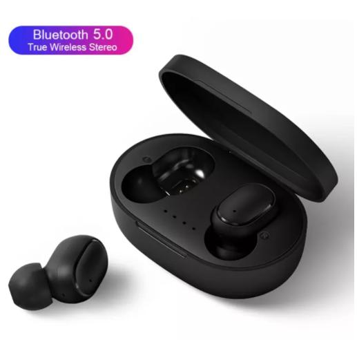 Bluetooth Earphones + Case