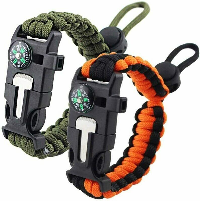 Paracord Bracelet (5-in-1)