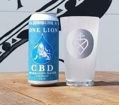 One Lion Sparkling CBD Water - 4 Pack