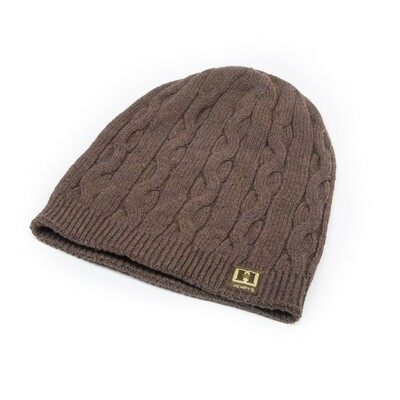 Cable Knit Hemp Beanie