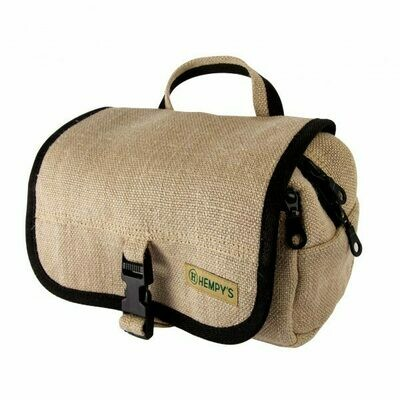Hemp Fabric Travel/Toiletry Bag