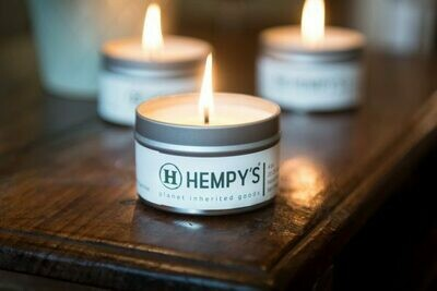 Scented Hemp Candles