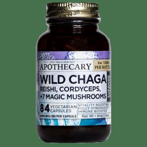 Supreme Vitality - CBD Wild Chaga Capsules