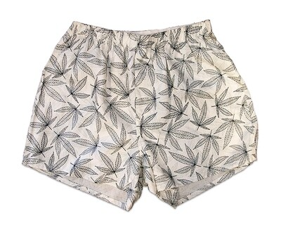 Hemp Leaf Boxer Shorts