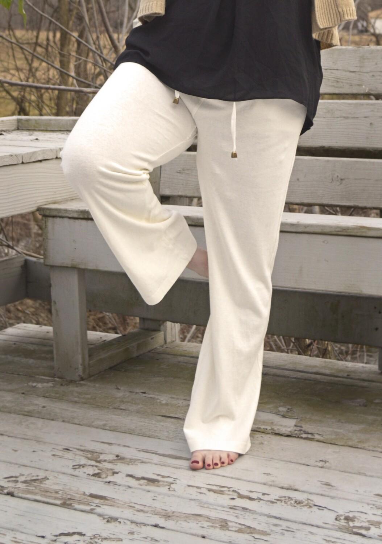 Yoga Lounge Drawstring Hemp Pant