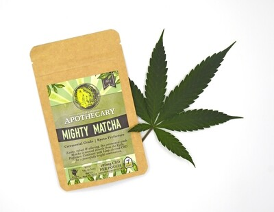 Mighty Matcha | CBD Matcha Powder