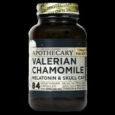 Sleep Aid - CBD Valerian Chamomile Capsules