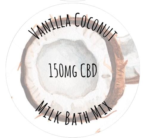 Vanilla Coconut Milk Bath Mix