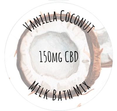 Vanilla Coconut Milk Bath Mix