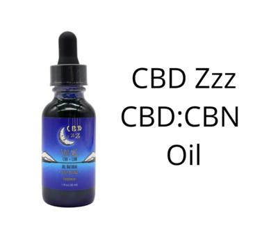 CBD Zzz - 5:1 CBD+CBN Sleep Tincture Oil
