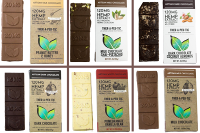 CBD Chocolate Bars