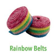 CBD Gummy Rainbow Belts 200mg
