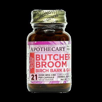 Blood Flow | CBD + Garlic, Butcher's Broom & Birch Bark
