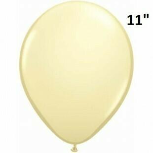Yellow latex balloons