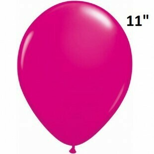 Pink Latex Balloon