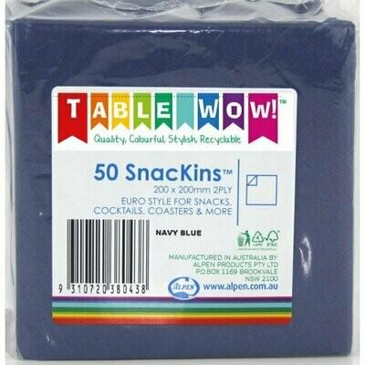 50 Dark Blue Snackins