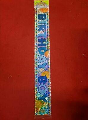 Happy Birthday banner 3.65m