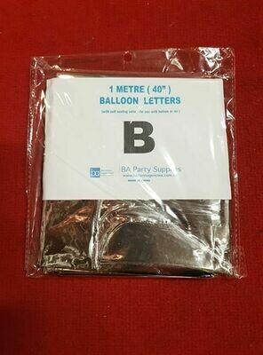 1M B Balloon Letter