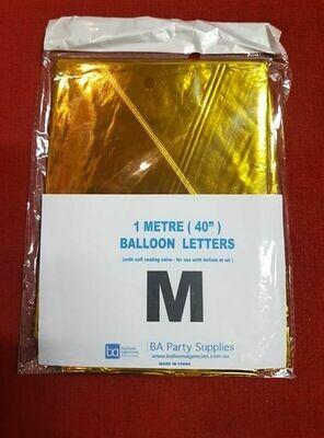 1M M Balloon Letter