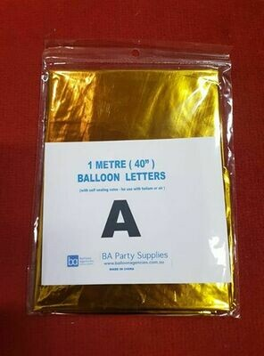 1M A Balloon Letter