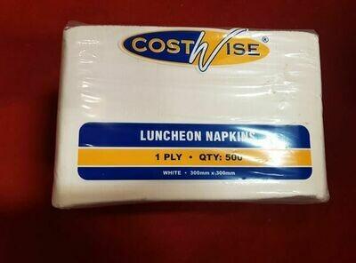 500 white napkins