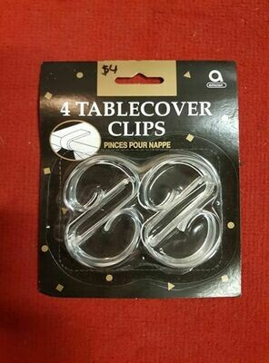 4 Table Cover Clips