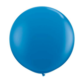 90cm dark blue Latex Balloon
