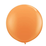 90cm Orange blue Latex Balloon