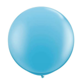 90cm Blue Latex Balloon