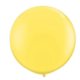 90cm Yellow Latex Balloon