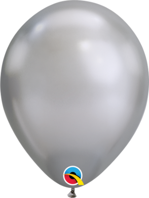 Chrome Silver Balloon