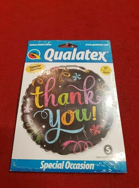 Thank you Foil Balloon
