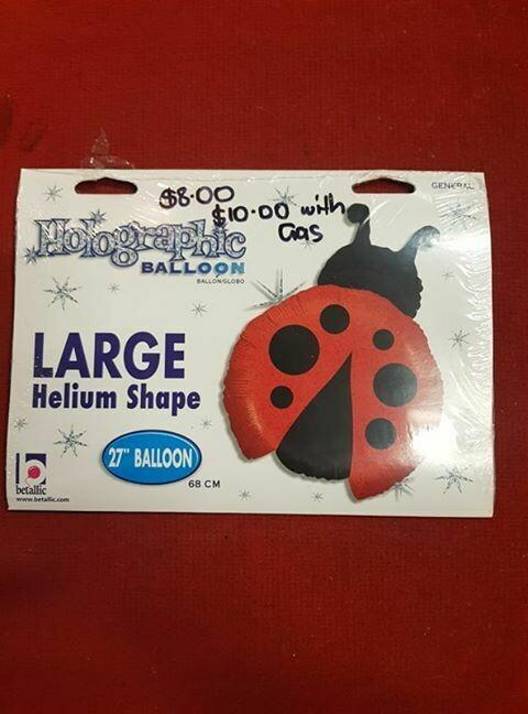 Ladybug Foil Balloon