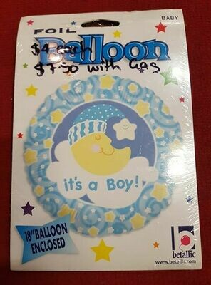 It's a boy foil Balloon 30.4cm 18