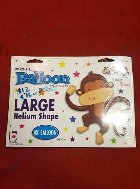Large monkey 102cm Balloon