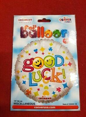 Good luck foil balloon 46cm