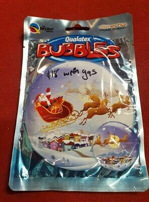 Merry christmas foil balloon 56cm