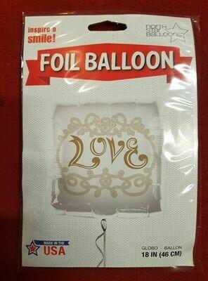 Love Foil balloon 46cm