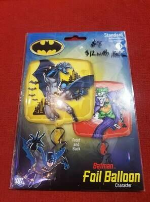 Batman & the joker themed Foil balloon