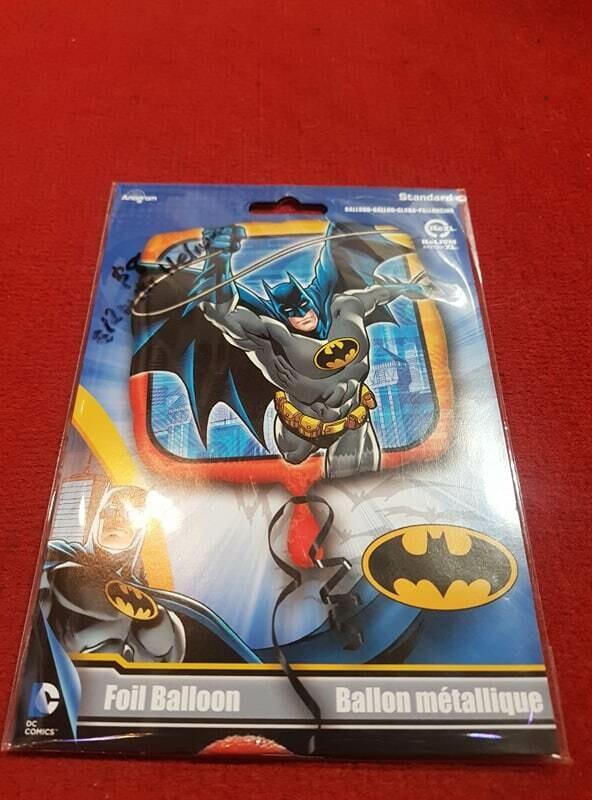Batman themed Foil balloon