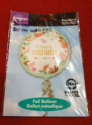 Happy birthday Foil balloon 46CM
