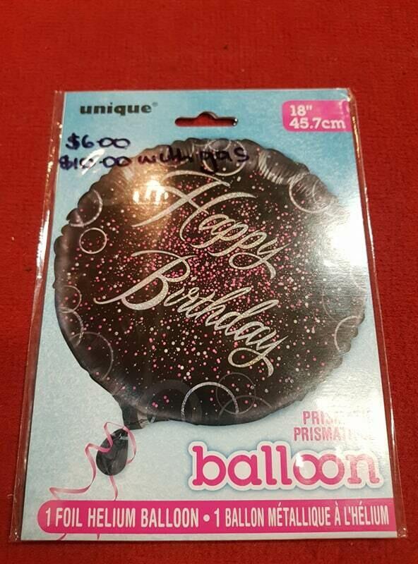 Happy birthday Foil balloon 45.7CM