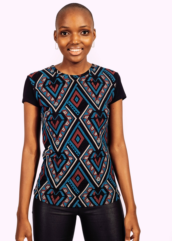 Modern African inspired T-shirt
