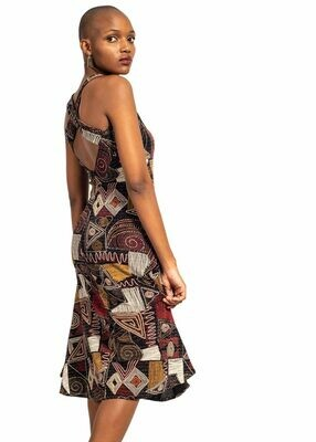 Gorgeous any occasion Afro-Politan dress !