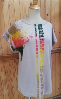 Hand Painted Blouse
