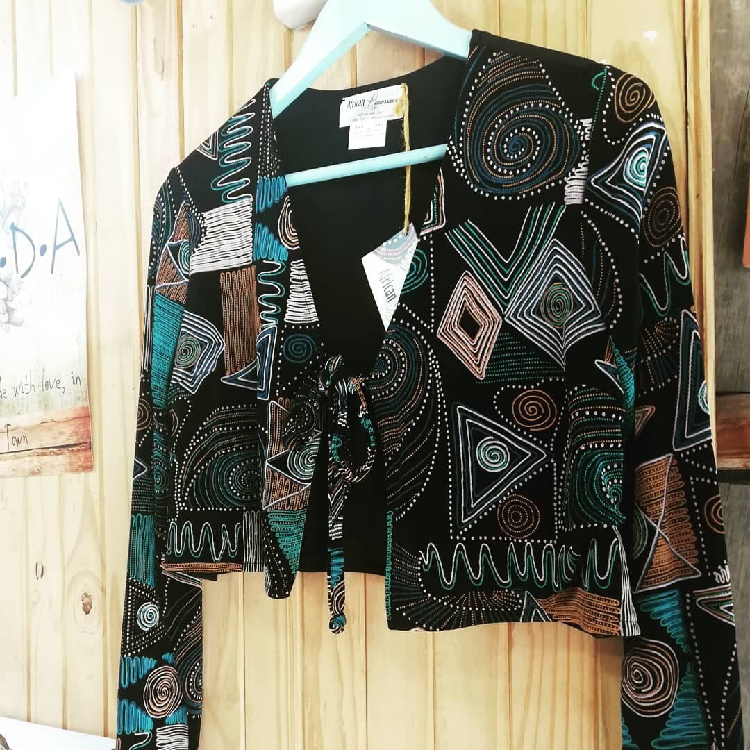 African Inspired, Long Sleeve Cardigan