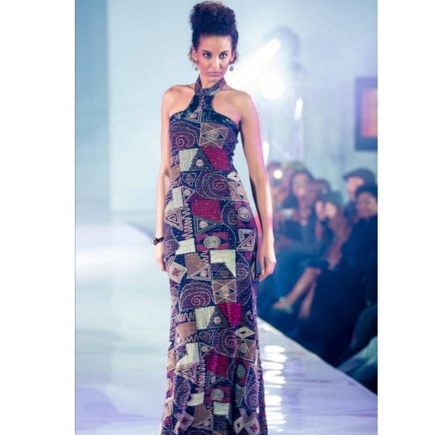Showstopper Stretch Evening Gown