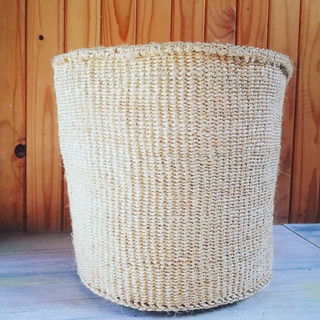 Neutral, Sisal Planter/Storage Basket