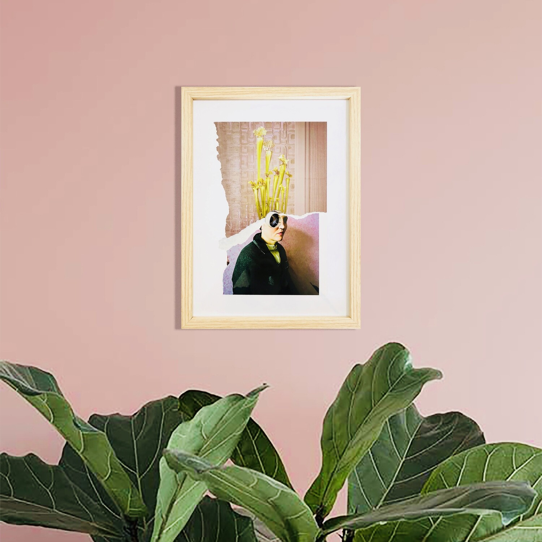 plant lady | original collage