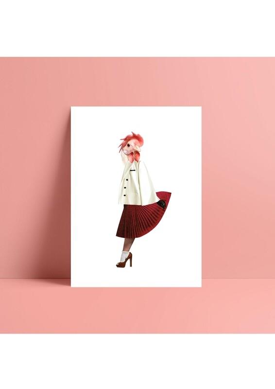 print | chick